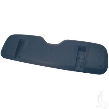 Seat Back Shell, Black Plastic, EZGO TXT 94-13